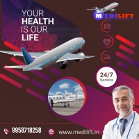 PreHospital Care Performed with Medilift Air Ambulance Delhi